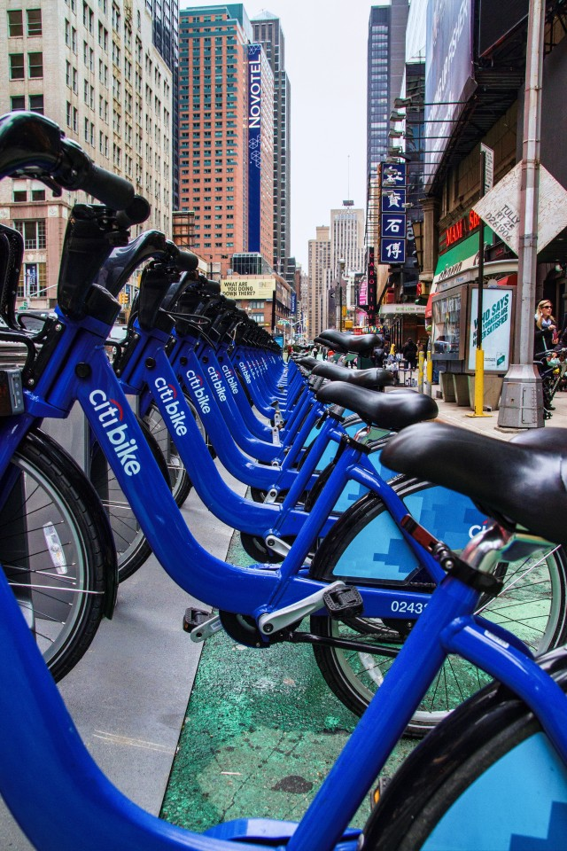 citibike at rack
