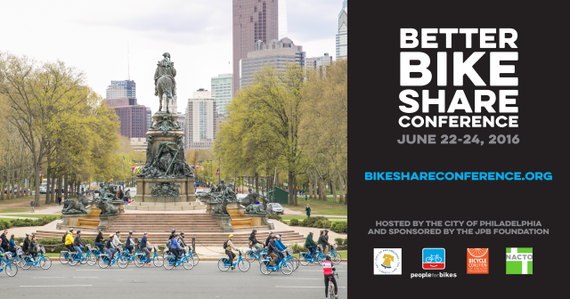 Better Bike Share Conference in Phildadelphia