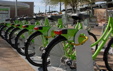 Phoenix bike share lets you park anywhere, but most people stick to docks
