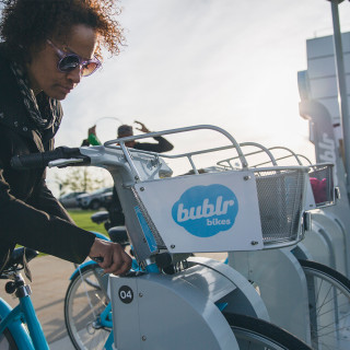Bublr embraces Milwaukee winters in the name of equity, accessibility