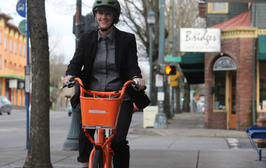 There's more to celebrate with Portland bike share than just Nike