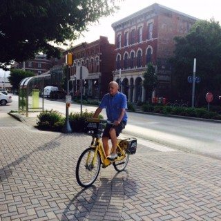 Age is just a number for Indianapolis bike share super user