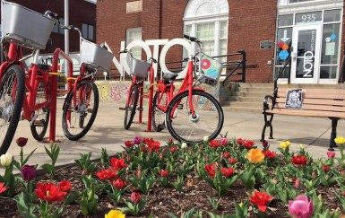 There's (already) a rack for that: Topeka's bike share win-win