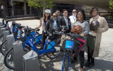 How one nonprofit is selling bike share to Bed-Stuy: in the workplace