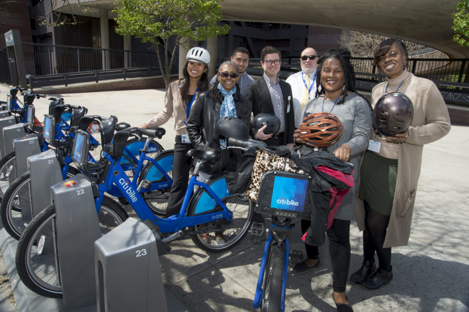 Woodhull Medical Center is another employer who's signed up for the Citi Bike corporate subsidy program.