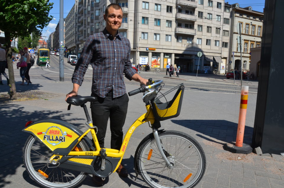 bike share project manager
