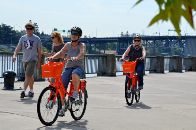 waterfront bikeshare