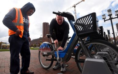 Building jobs while building bike share