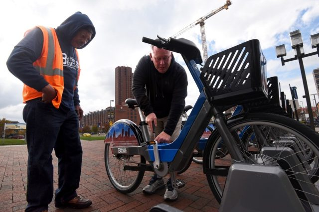 Baltimore Corps Logistics bike share