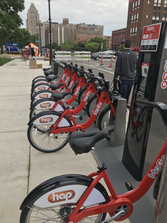 Detroit Bike Share launch 1