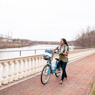 Philadelphia and Indianapolis are getting people to parks with bike share