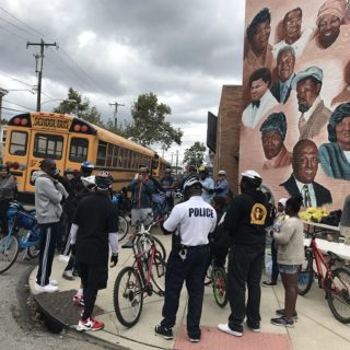 Philadelphia program seeks to build police-community relationships through bike share
