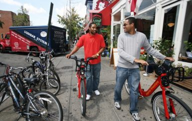 Is bike share contributing to DC's growing cycling rates?