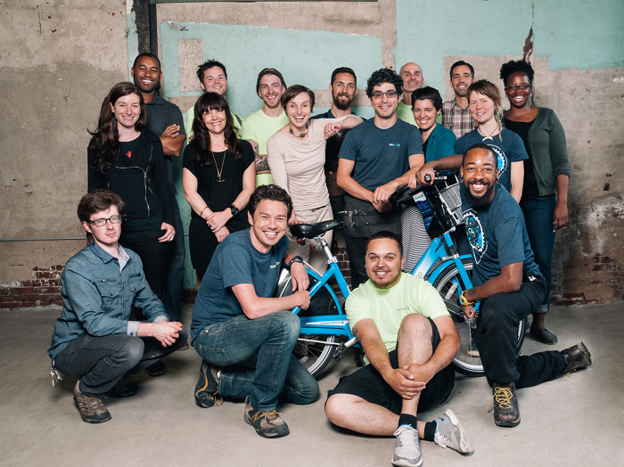 Bicycle Transit Systems Philadelphia staff