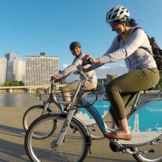 Pittsburgh's bike share approach emphasizes outreach, expansion, and low cost