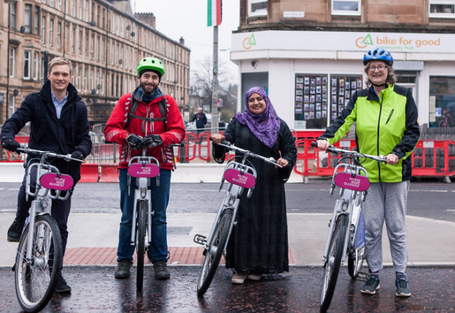 Bikes for all Glasgow 1