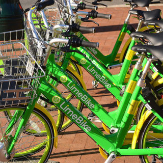 Lime bike share teams up with PayNearMe for discount option