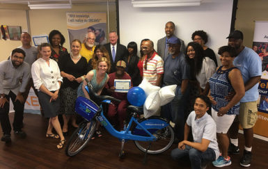 Digital Skills Bicycle Thrills graduates seventh class