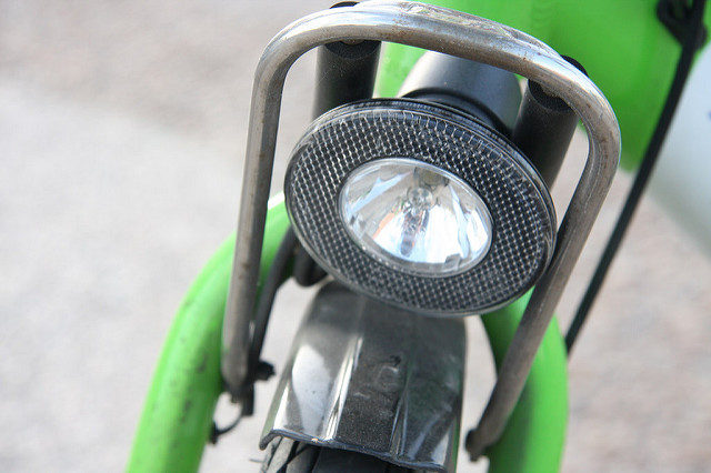 bike share front light