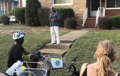 Charlotte's 'Pedal to Porch' connects neighbors through storytelling