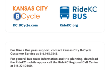Kansas City integrated fare card brings bike share and transit together