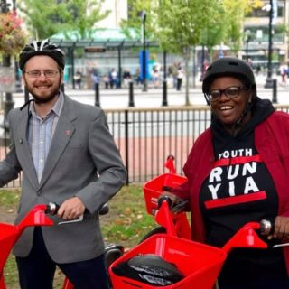 In Providence, city development relies on bikes