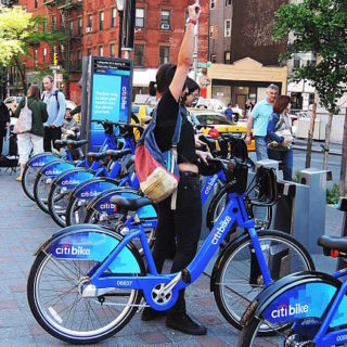 Using bike share and scooter money for good