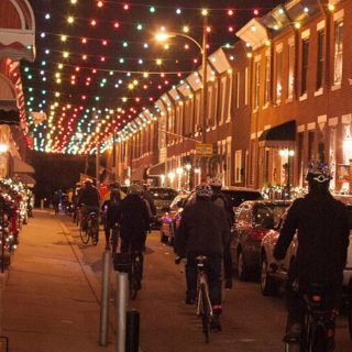 Jumping into the holiday spirit with bike share