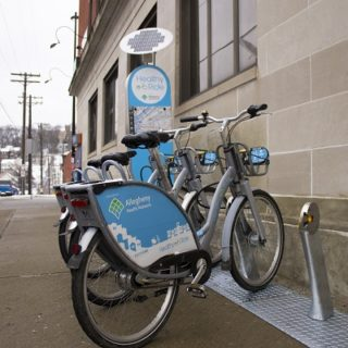 Pittsburgh adds bike share density with small station model