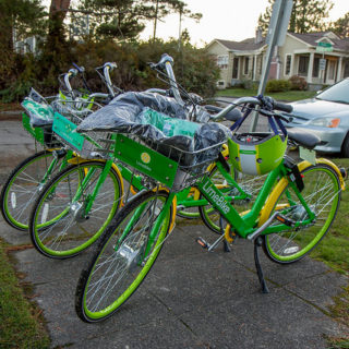 Report examines spatial equity of dockless bike share