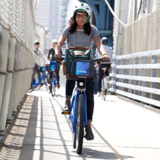 Ayesha McGowan: Bike racer and bike share explorer