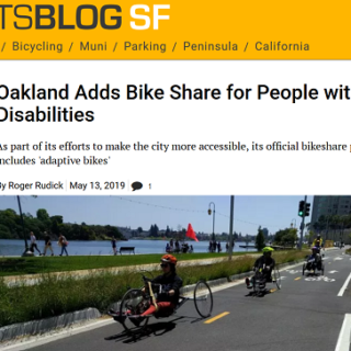 Oakland starts adaptive bike share pilot
