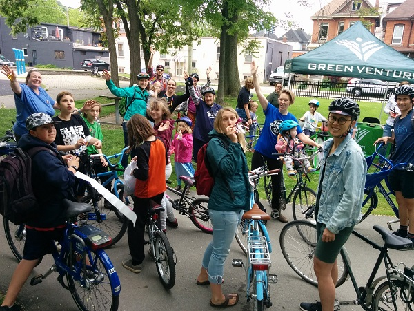annual pride ride hamilton bike share
