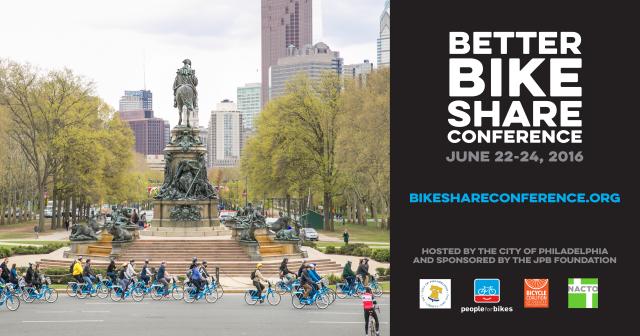 Better Bike Share Conference in Phildadelphia