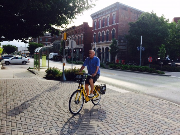 Greg Kormos, Pacer Bikeshare super user
