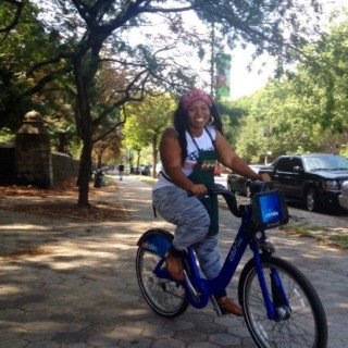 Shaquana Boykin on Citi Bike