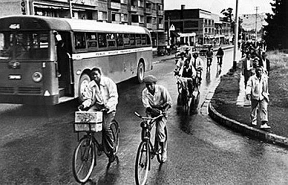 MLK bus boycott bikes