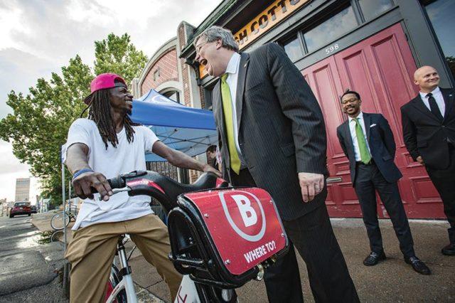 bike share demo Memphis