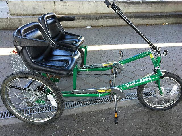 Portland tandem adaptive bike