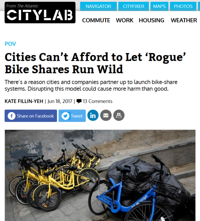 CityLab rogue bike share article