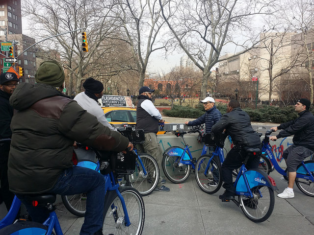 Citi bike CORE ride