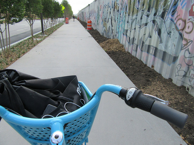 view from bike share