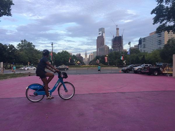 Philadelphia and bicycle