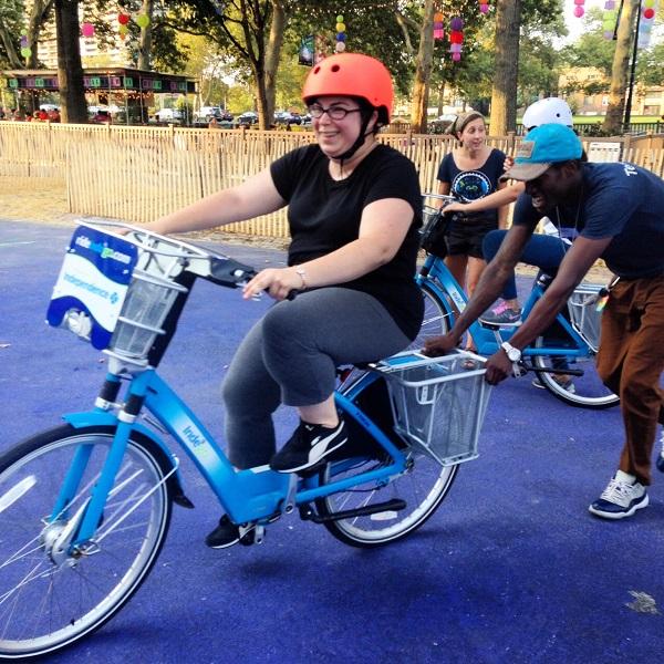 Philadelphia learn-to-ride class