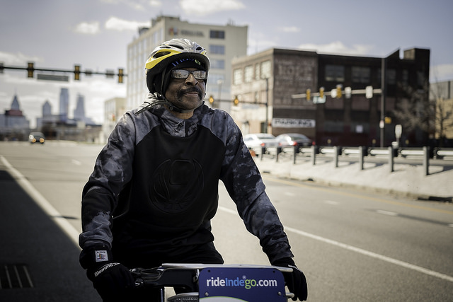 Indego rider