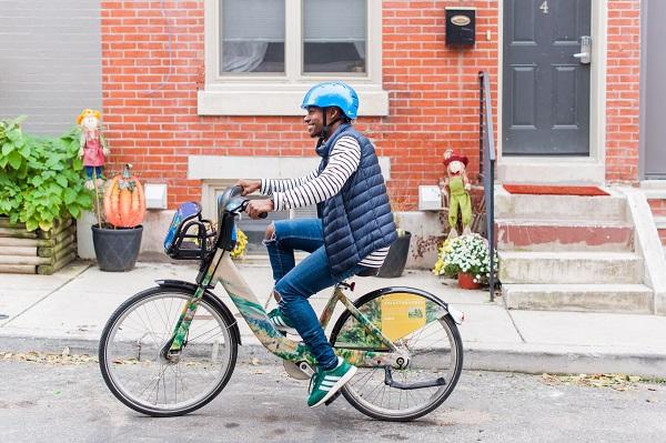 Barnes Indego rider