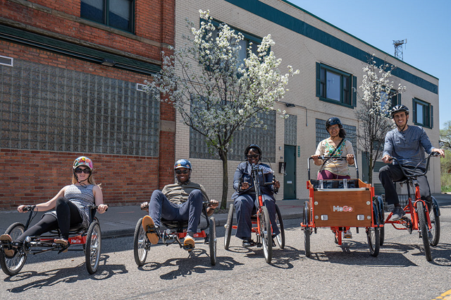 Detroit provides adaptive bikes, will expand system