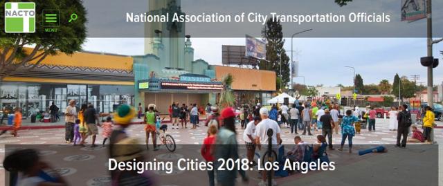 Designing Cities 2018