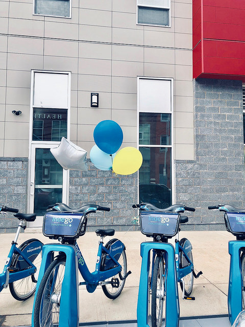 Indego bikes DSBT graduation