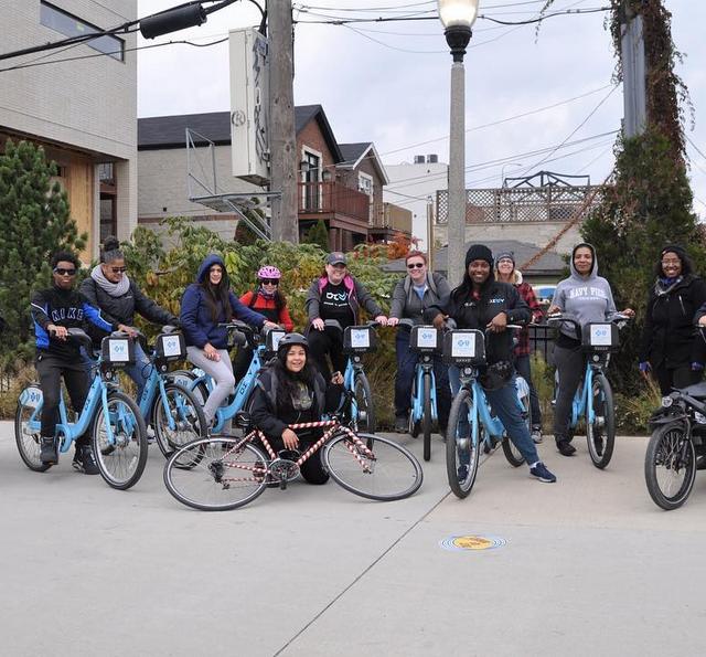 Chicago riders celebrate women's empowerment through biking